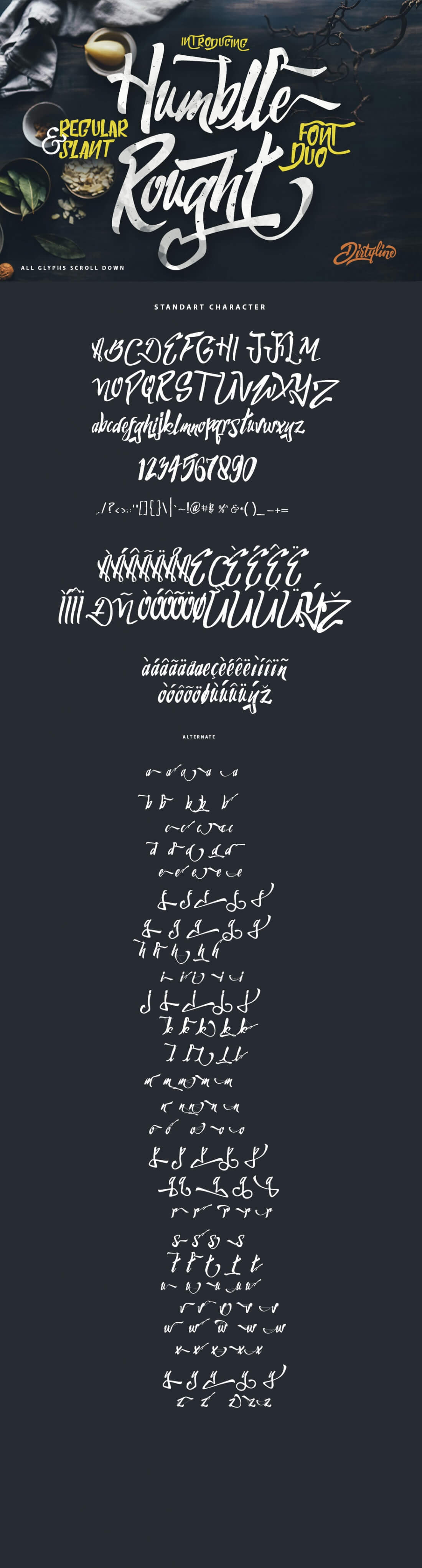 Superb Fonts Bundle of 7 Script & Display Typefaces - only $7 ...