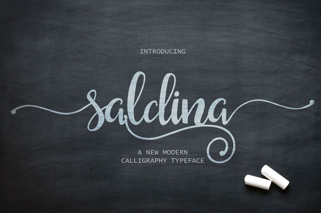 9 Beautiful Handwritten Modern Script Fonts
