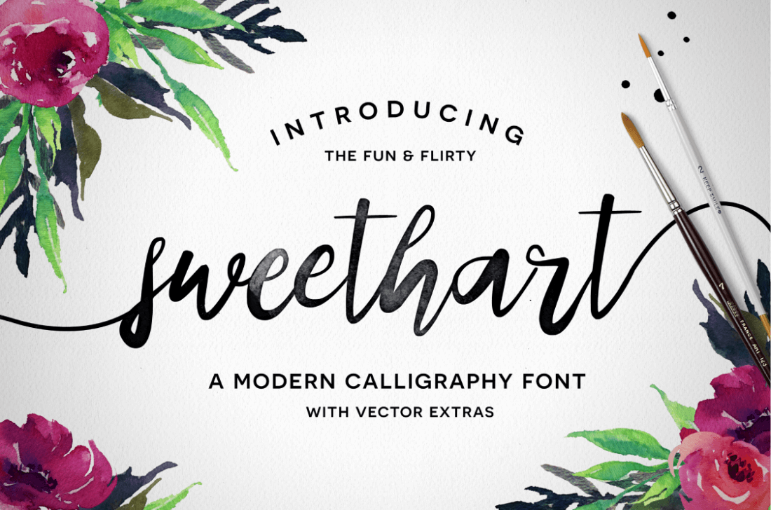 The Hand Crafters Font Bundle of 37 Premium Font Families +