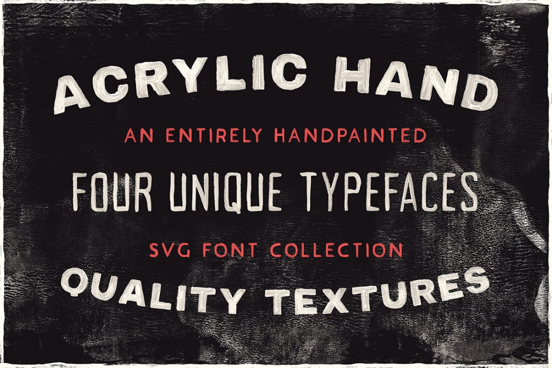 LAST CHANCE: The Handcrafted SVG Font Bundle - only $19! - MightyDeals
