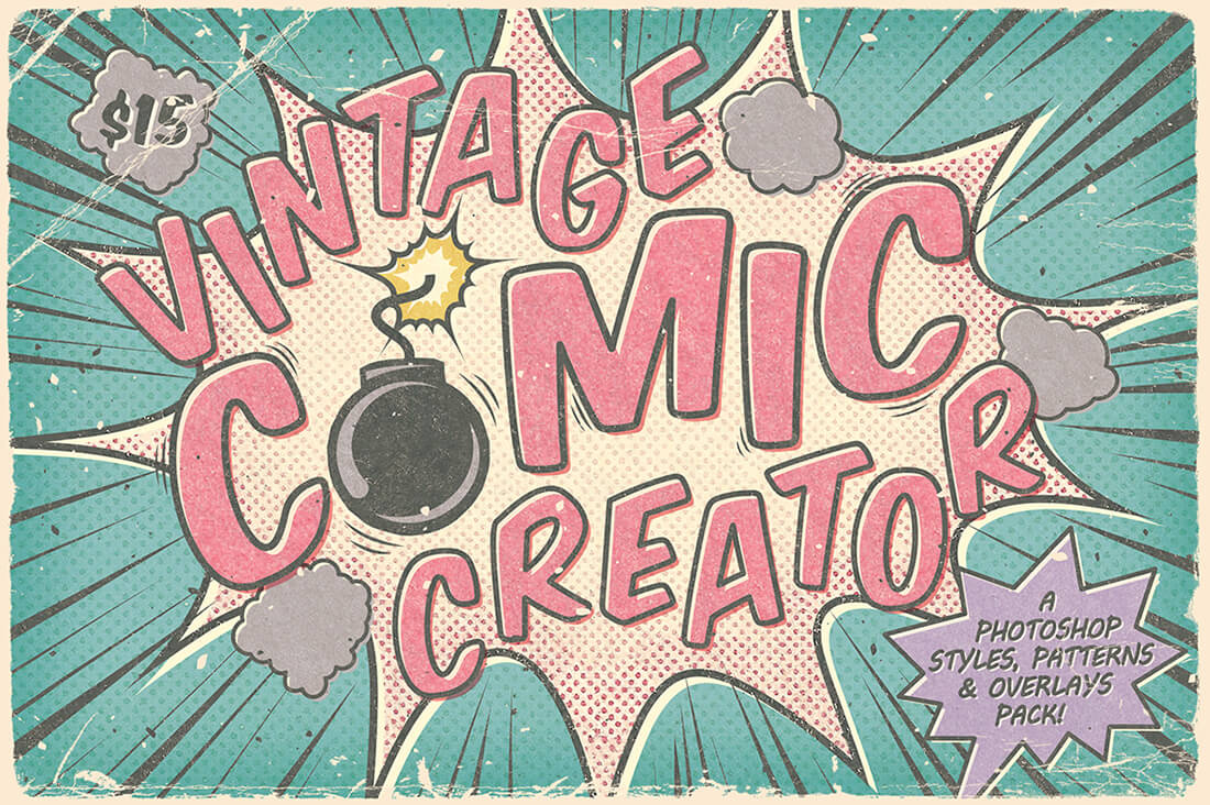 LAST DAY Make Vintage Comics With The Retro Comic Book