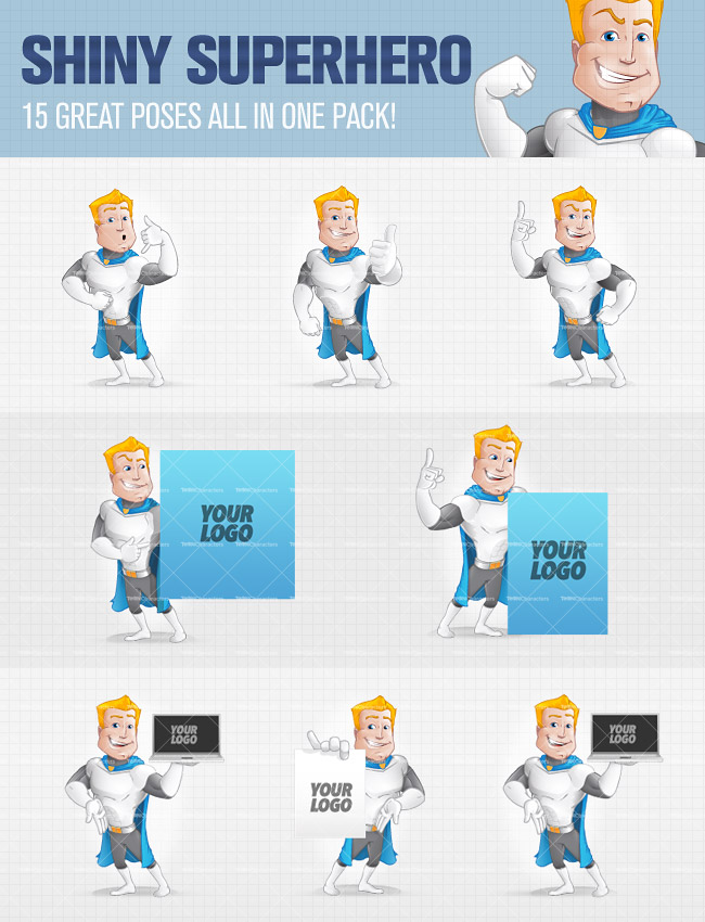 10 professional cartoon characters in 400 poses only 24 10 professional cartoon characters in 400 poses only 24 mightydeals voltagebd Gallery