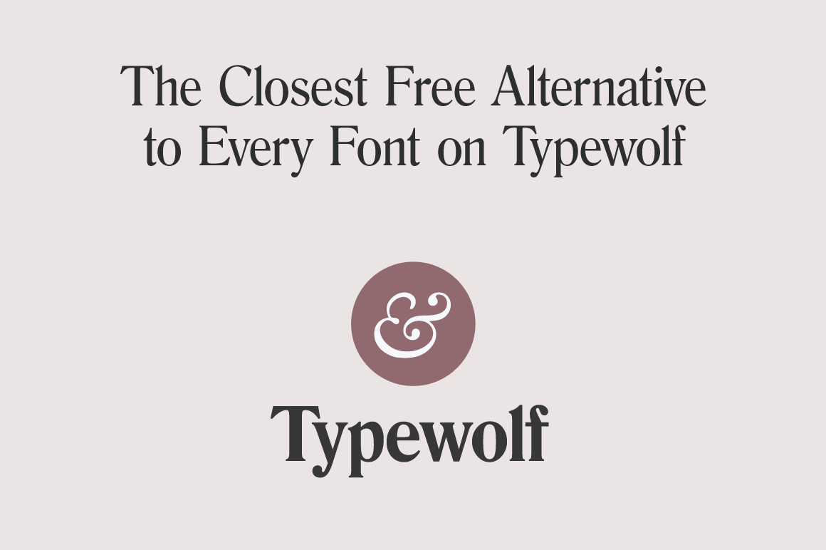 LAST DAY: The Definitive Guide to Free Fonts eBook by Typewolf
