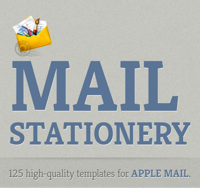Mail stationery en mac app store.