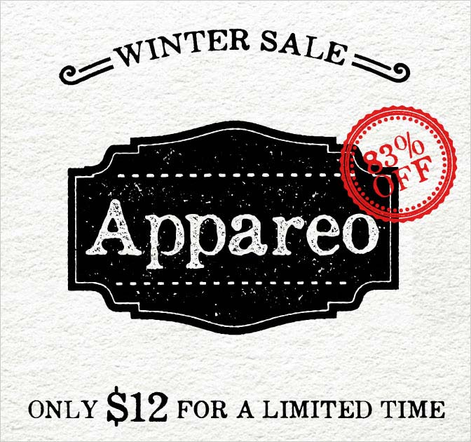 LAST DAY: Appareo Font Family