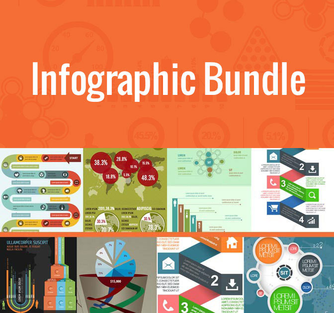 last day massive infographic bundle 100 templates only 27
