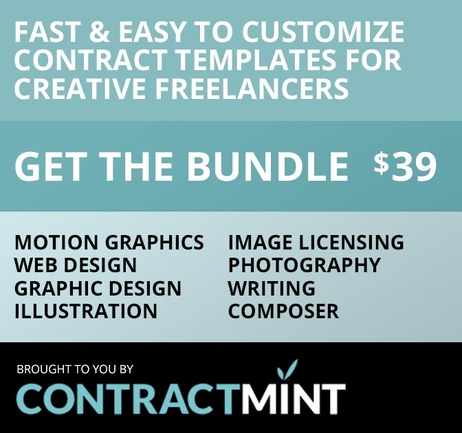 Last Day Contract Template Bundle For Creative Freelancers  Only