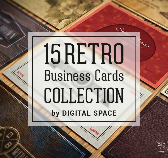 15 retro vintage business cards collection only 19 mightydeals