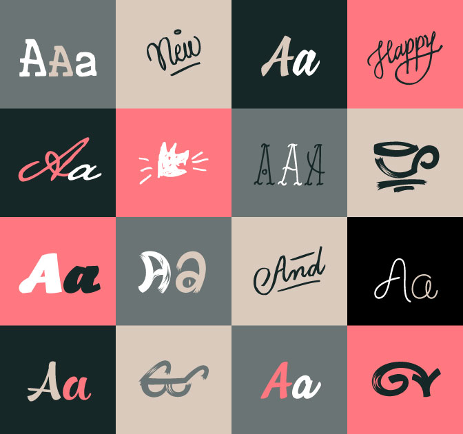 LAST DAY: Bundle of 9 Beautiful, Professional Script Fonts from