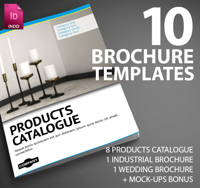 LAST DAY: 10 Professional InDesign Brochure Templates from Smarty ...