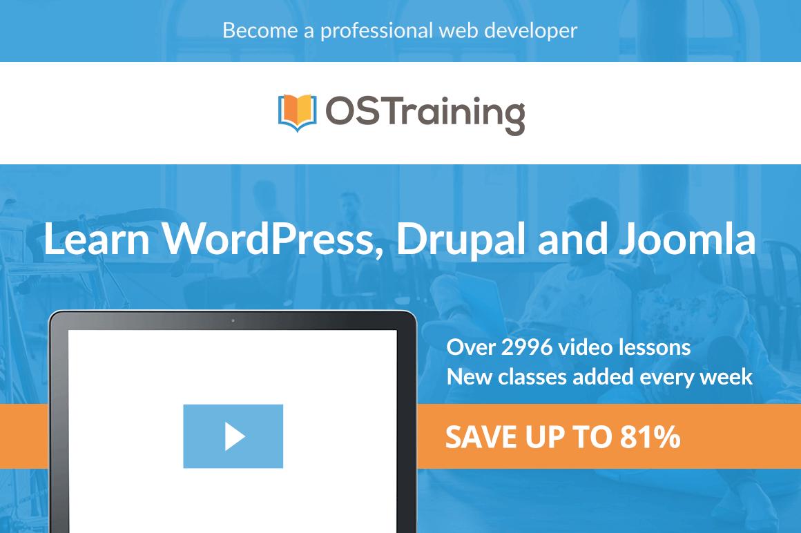 Master WordPress, Drupal, Joomla, Coding and SEO with 2900+