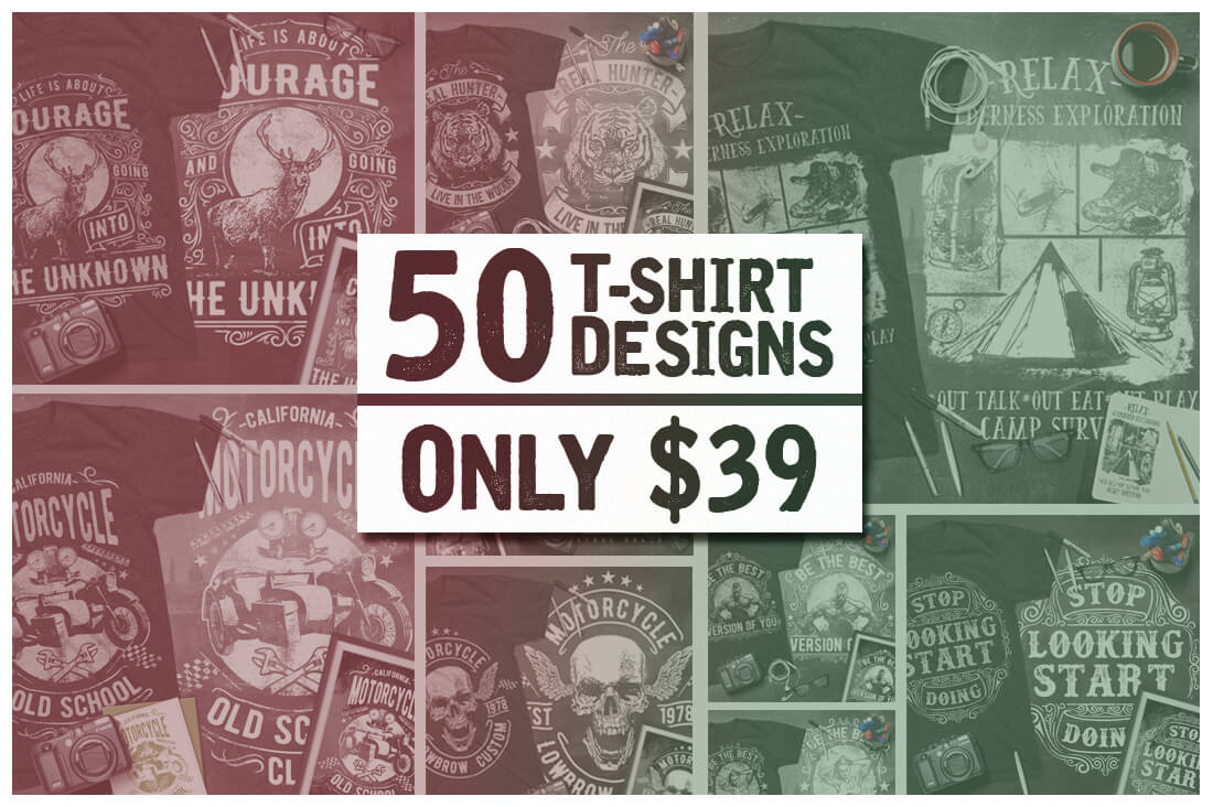 Design your own t-shirt and save it - Looking To Make Your Own T Shirts Then You Ve Stumbled Upon The Perfect Mighty Deal This Mega Bundle Of T Shirt Designs From Mihai Valentin Contains 50