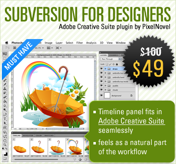 Subversion Plugin for Adobe Creative Suite - MightyDeals
