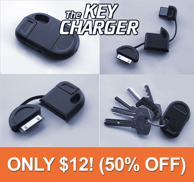 iPhone and Android Keychain Charger deal - MightyDeals 687e4132cbbd